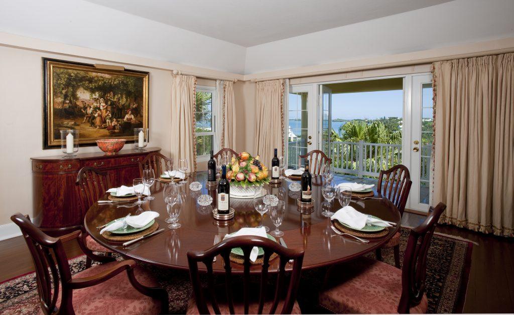Bermuda Life The Dining Room Renaissance Sinclair Realty