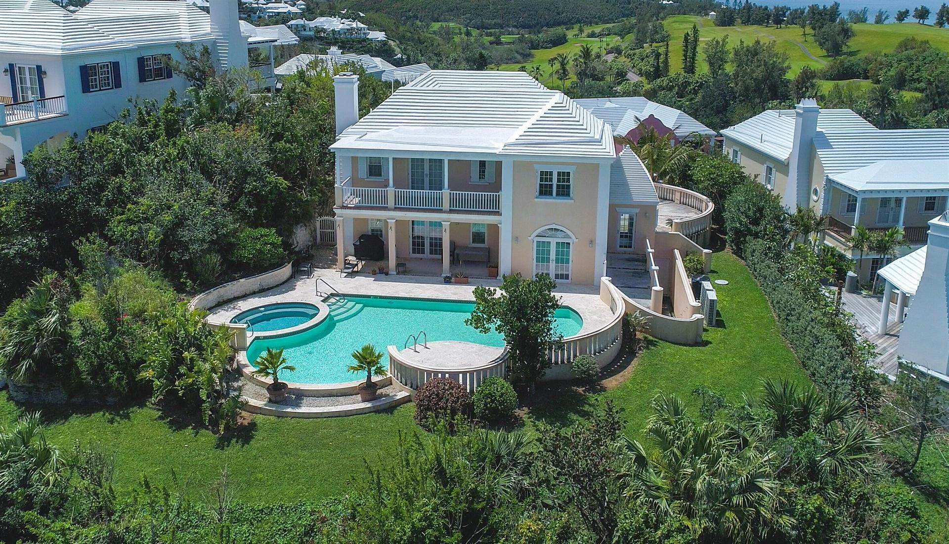 Tucker's Point Club Estate Home 15 Ship's Hill, St Georges Parish, Bermuda HS02 버뮤다에 Single Family Homes