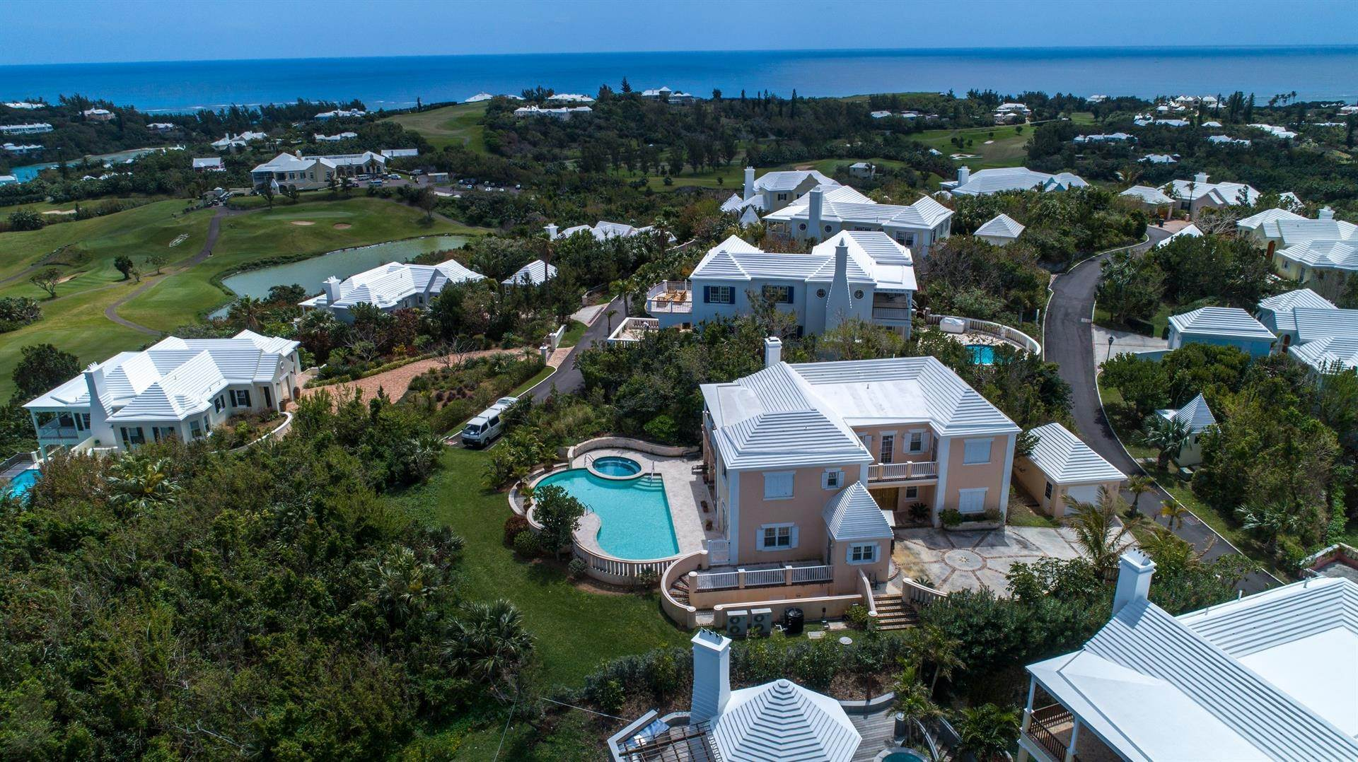 6. Single Family Homes at Tucker's Point Club Estate Home 15 Ship's Hill, St Georges Parish, Bermuda HS02 Bermuda