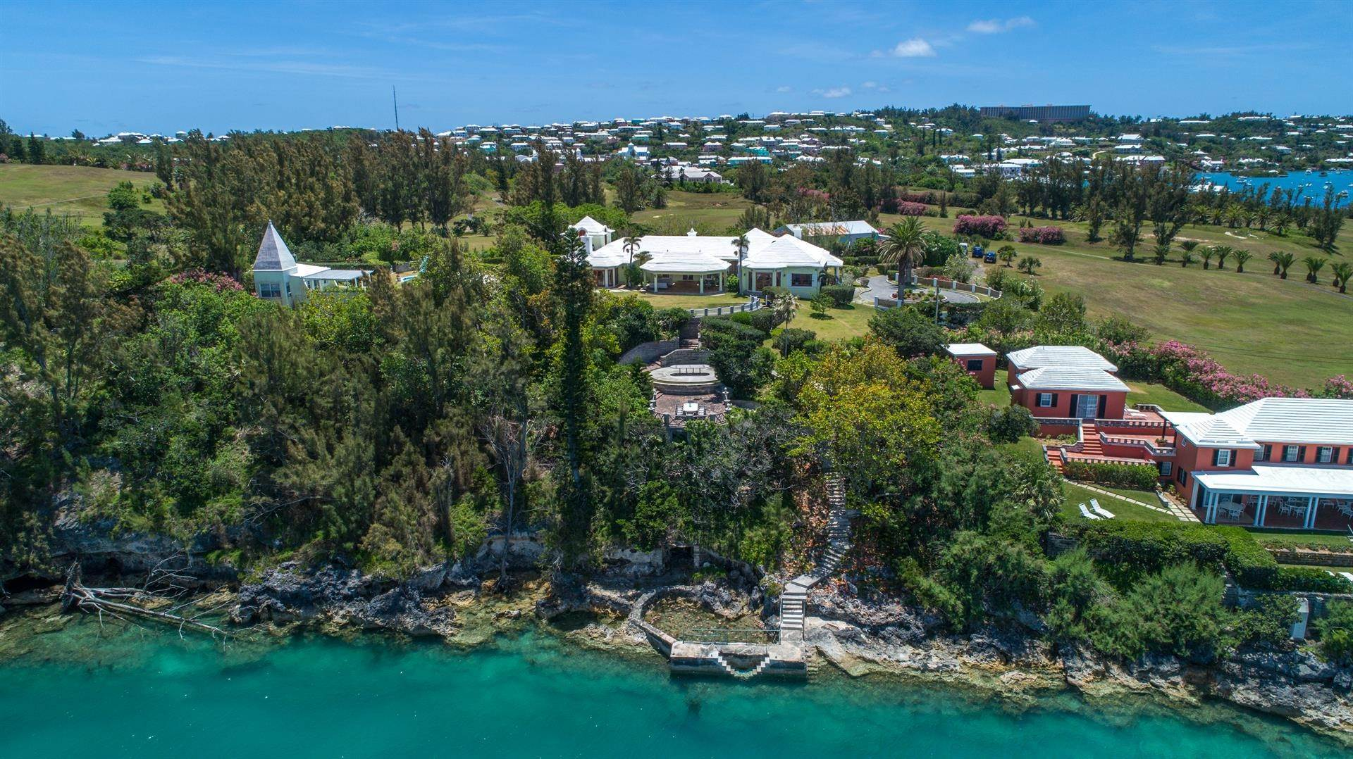 Waterfront Property for Sale at Heron Hill On The Great Sound Heron Hill On The Great Sound, 31 Riddell's Bay Road,Bermuda – Sinclair Realty