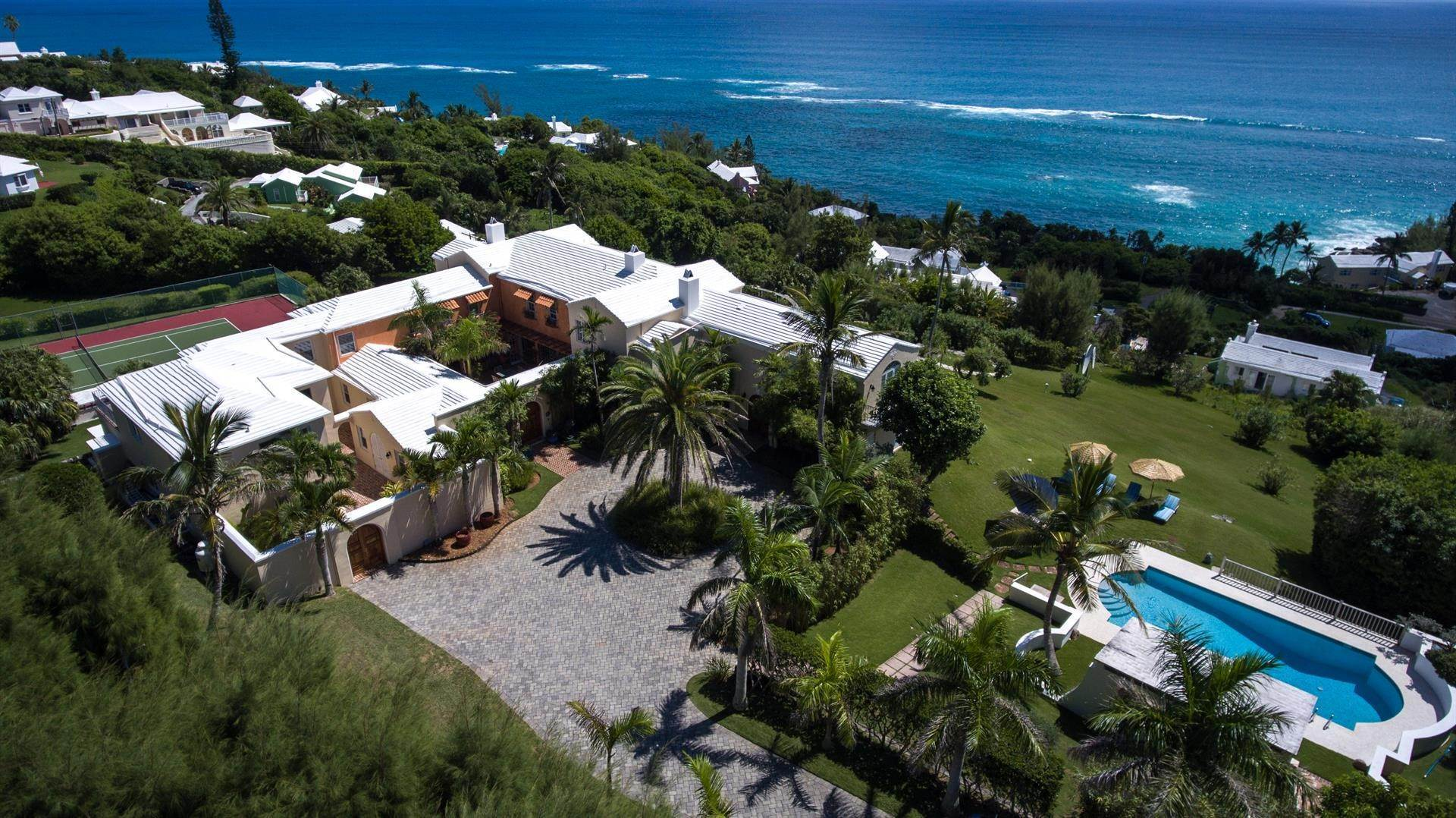 2. Landgoed voor Verkoop op Spanish Grange Overlooking The South Shore Spanish Grange Overlooking The South Shore, 26 Knapton Hill,Bermuda – Sinclair Realty