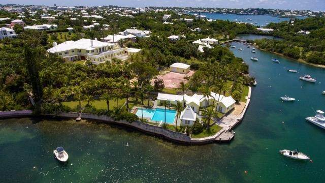 4. Propriété au bord de l'eau pour l Vente à Palomera In Fairylands Palomera In Fairylands, 7 Mills Shares Road,Bermuda – Sinclair Realty